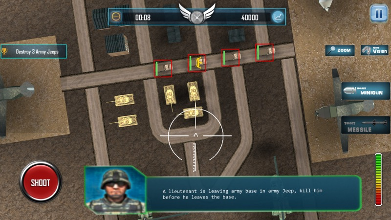 Screenshot, Drone Strike 3D - Army Stealth Attack