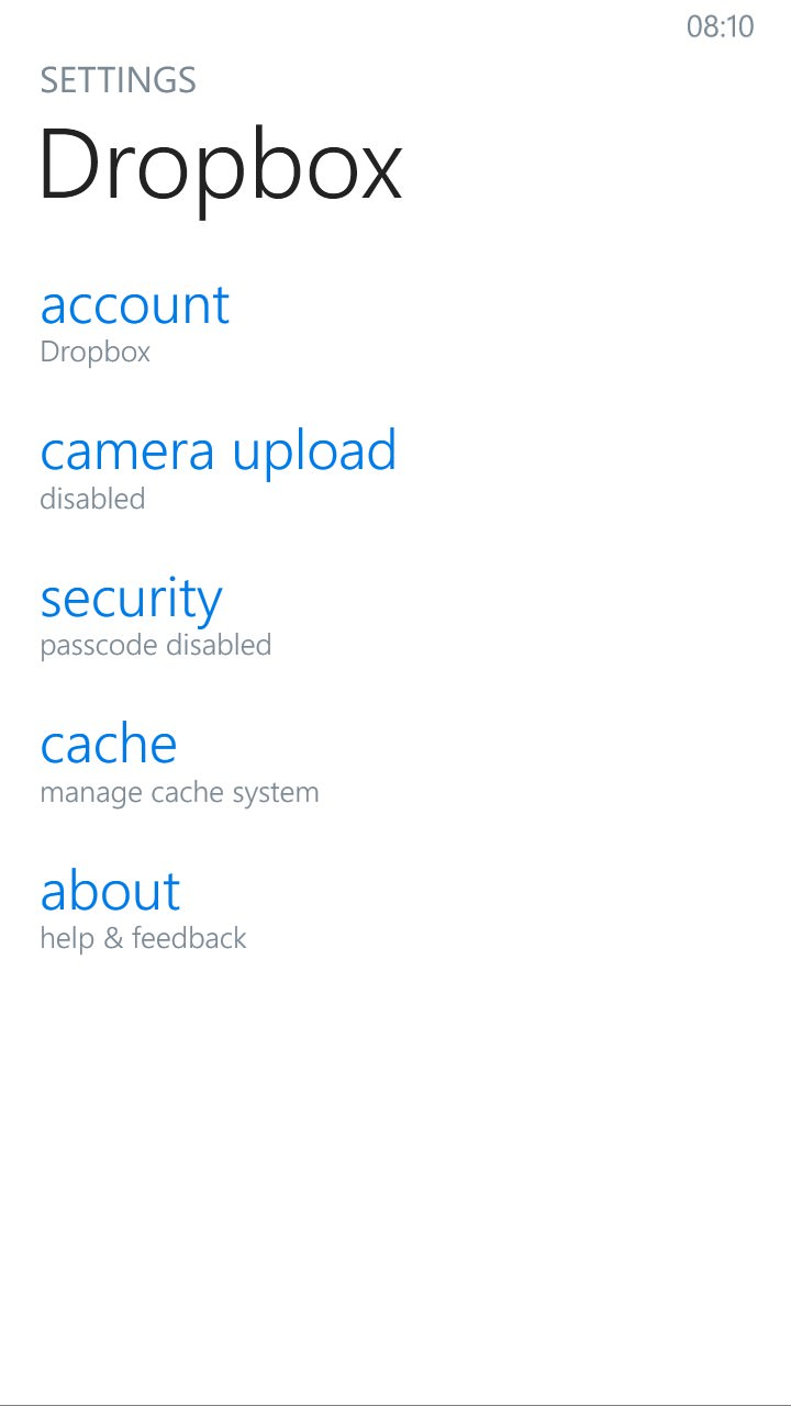 Screenshot, Dropbox