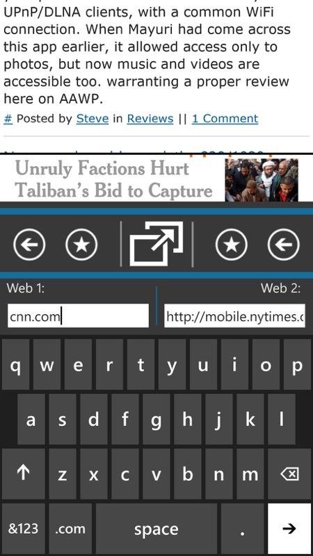 Screenshot, DuoWeb