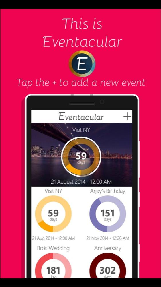 Screenshot, Eventacular