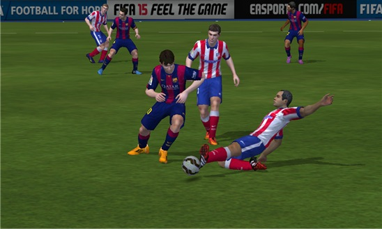 Screenshot, FIFA 15 Ultimate Team