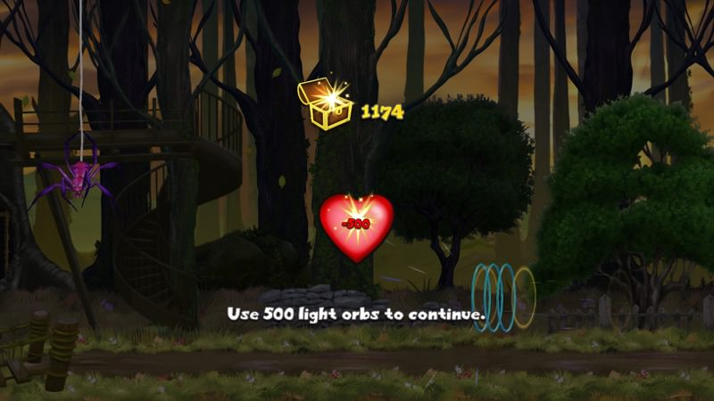 Screenshot, Firefly Runner