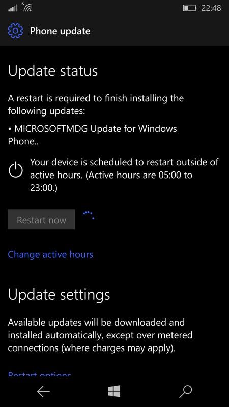 Screenshot, firmware