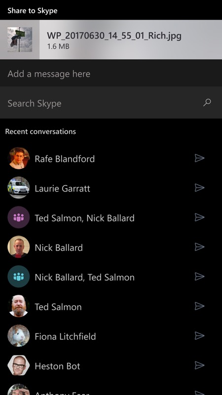 how to add a contact on skype windows 10