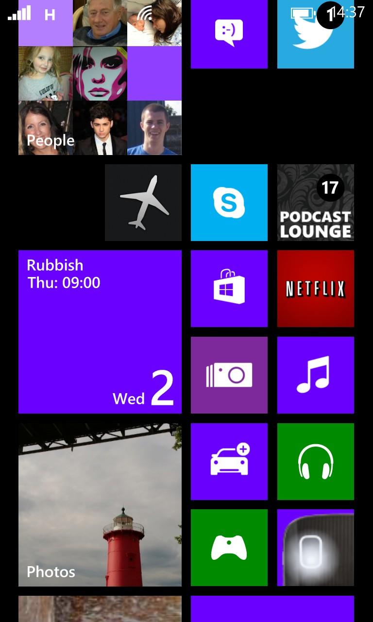 Screenshot, Flight mode