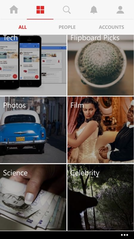 Screenshot, Flipboard