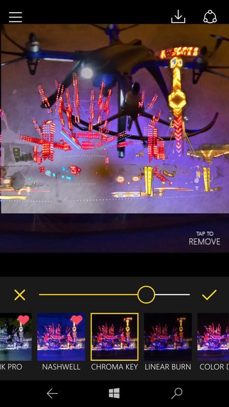 Fused UWP screenshot