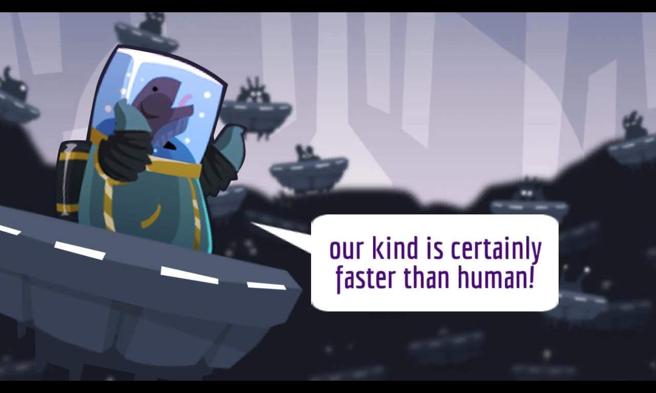 Screenshot, Galactic Rush