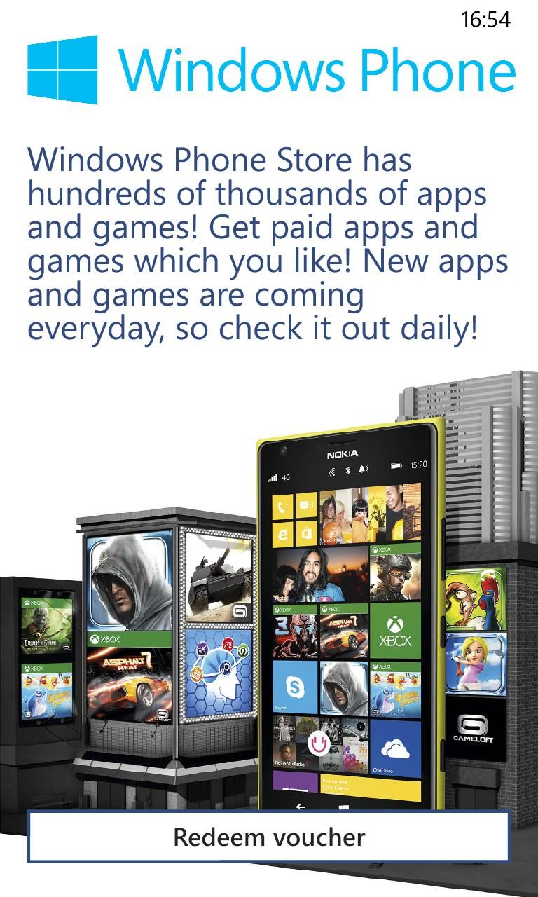 Screenshot, Gift Voucher from Nokia