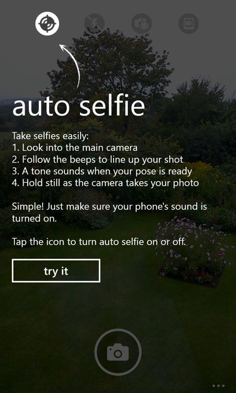 Lumia Selfie screenshot
