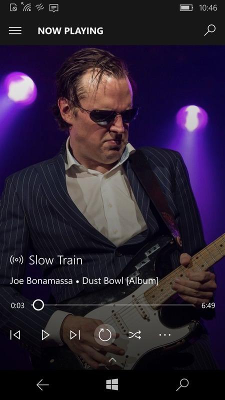 Screenshot, Groove