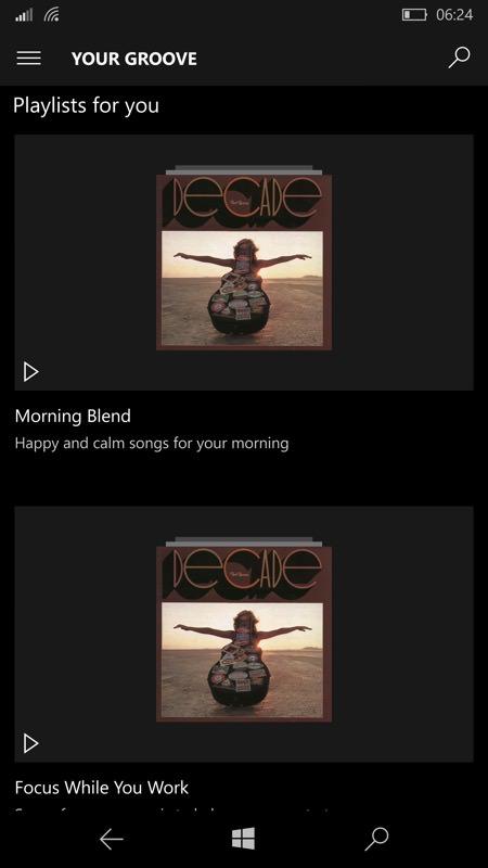 Screenshot, Your Groove