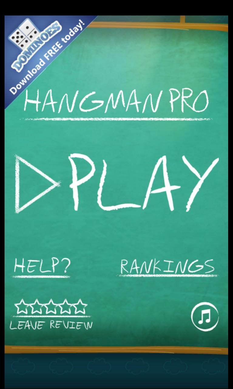 Screenshot, Hangman Pro