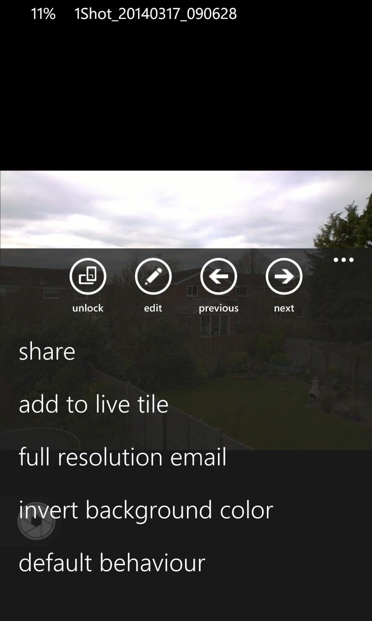Screenshot, HD Photo Viewer