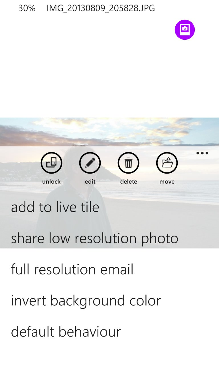 Screenshot, HD Photo Viewer 8.1