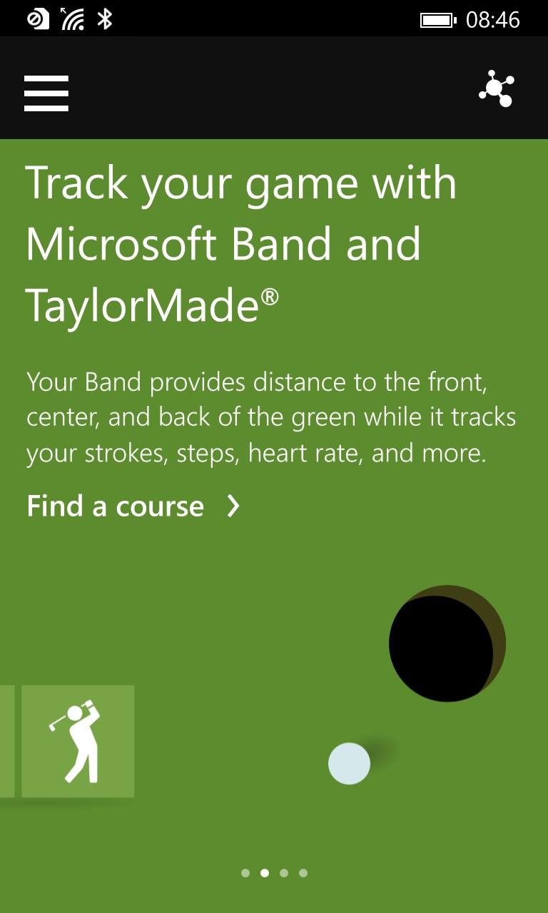 Screenshot, Band update