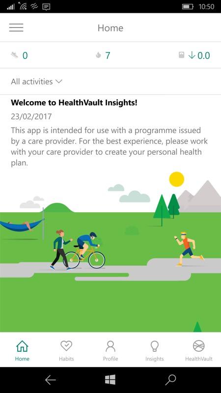 HealthVault Insights