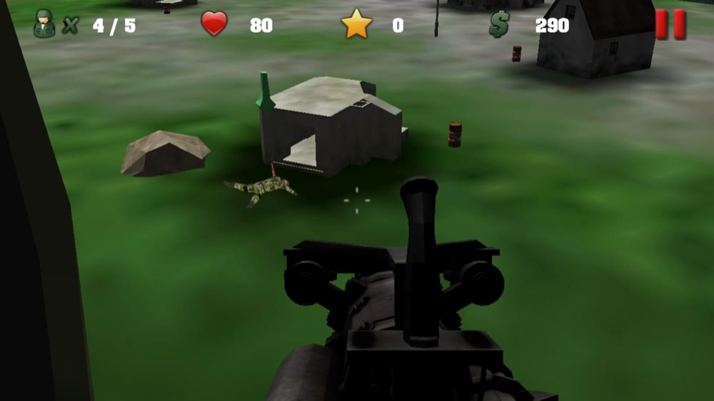 Screenshot, Heli Gunner 2 - frontline air combat