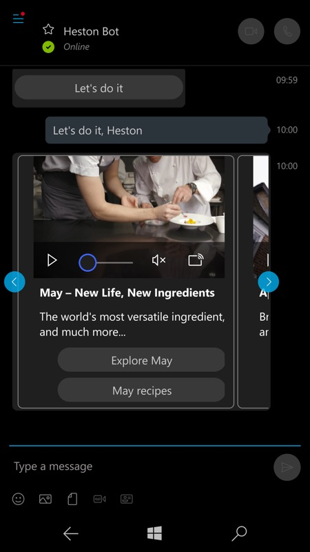 Screenshot, Heston bot