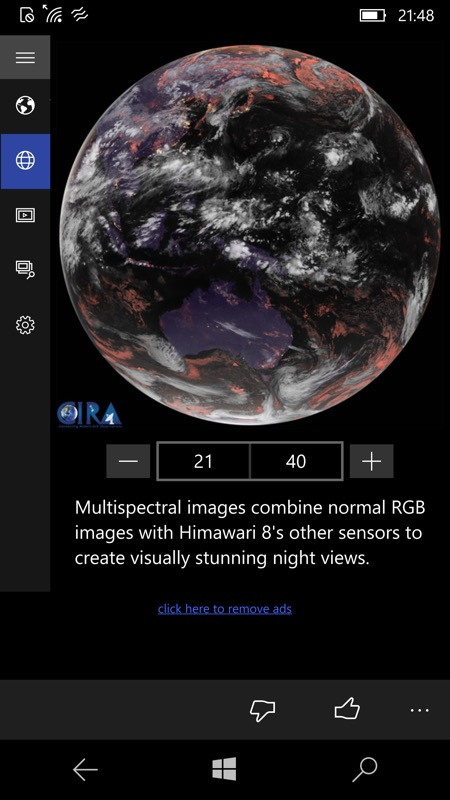 Live Earth screenshot