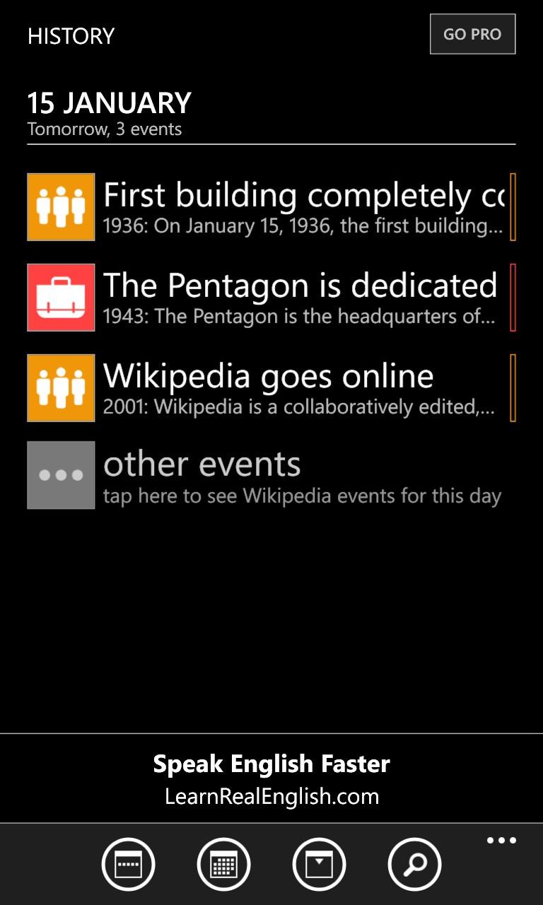 Screenshot, History