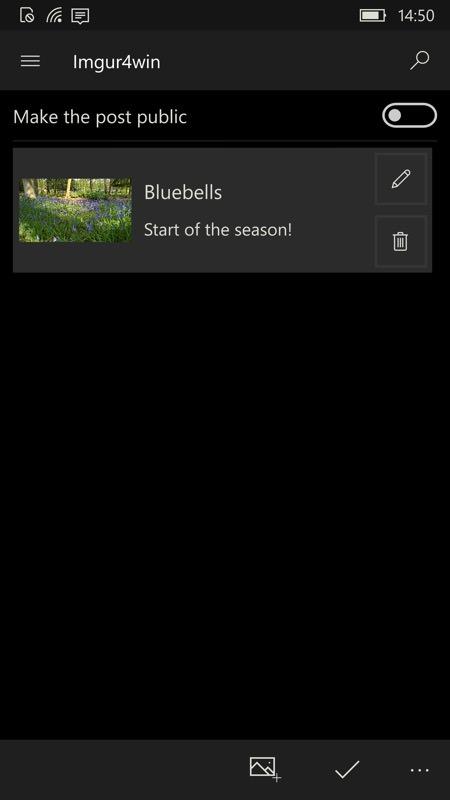 Screenshot, Imgur4Windows UWP
