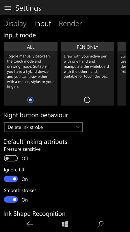 Inkodo UWP screenshot