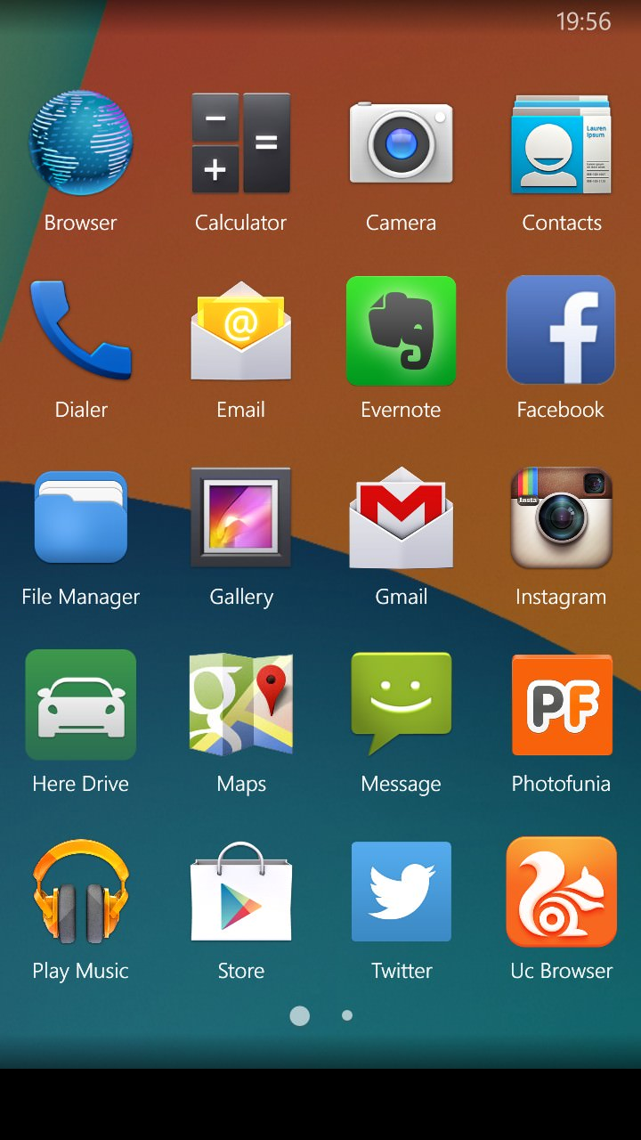 Screenshot, Kitkat Launcher