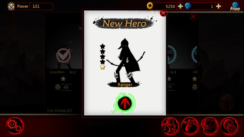 Screenshot, League of Stickmen