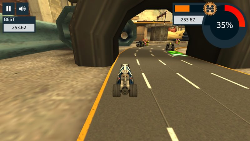 Screenshot, LEGO Racers