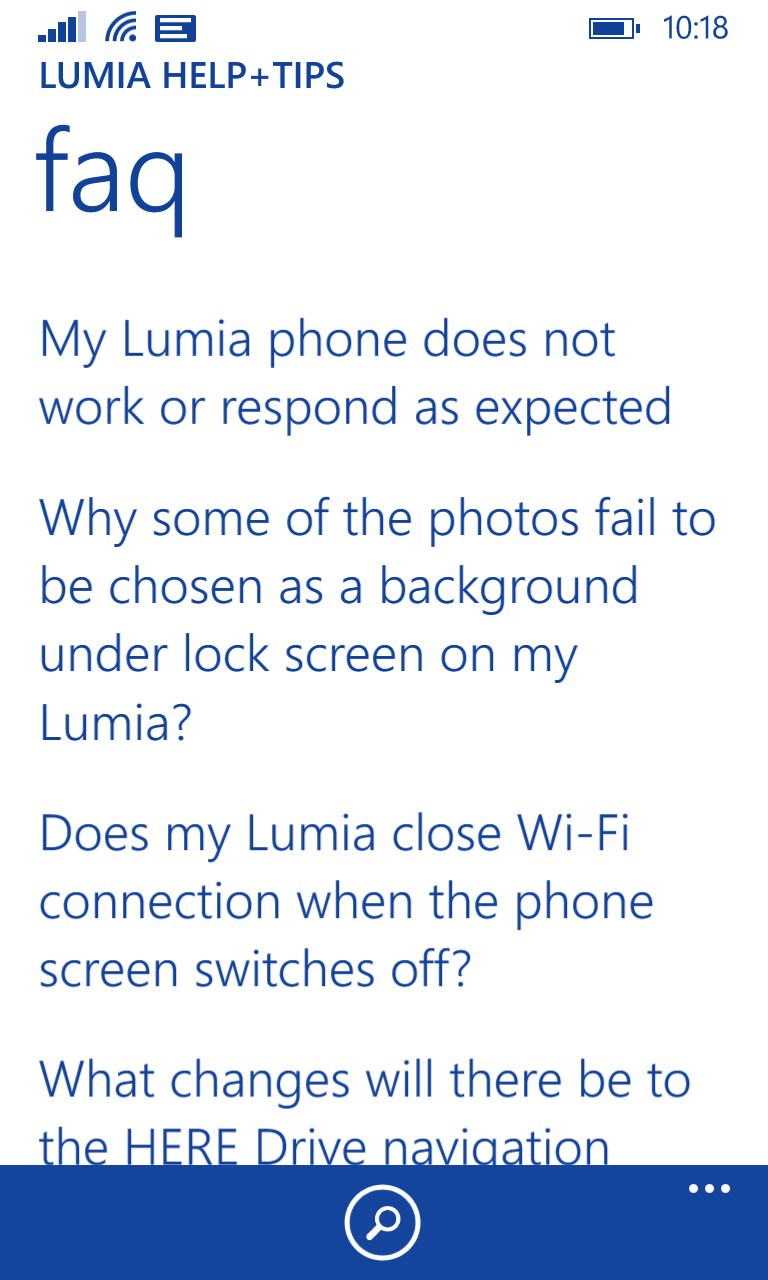 Lumia Tips+Tricks screenshot