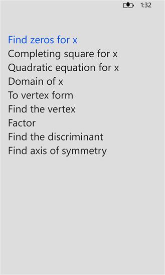 Screenshot, Mathologica