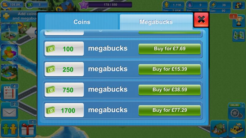 Screenshot, Megapolis