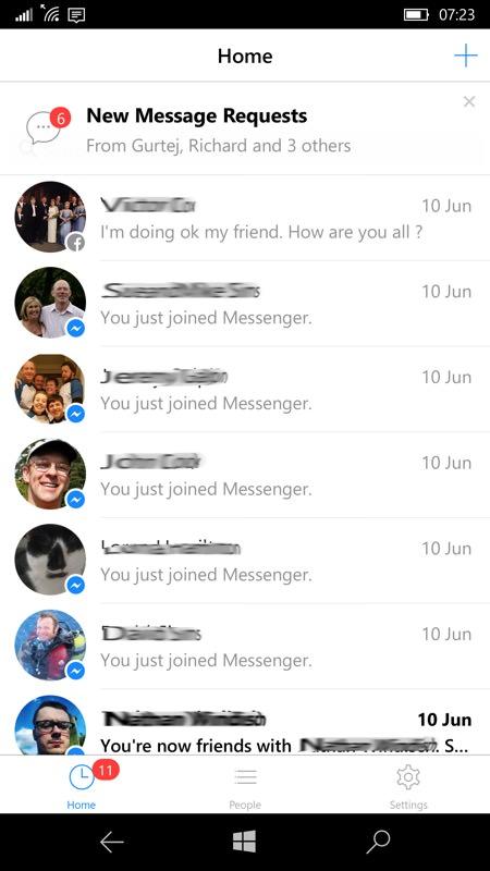 Facebook Messenger (Beta)