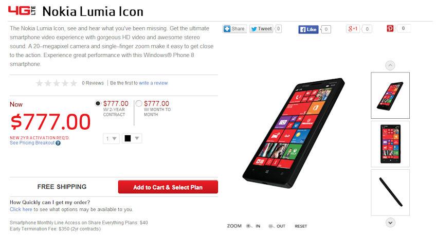 With bone, nokia lumia icon verizon for sale can
