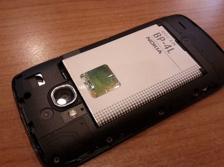 BP-4L in Lumia 710