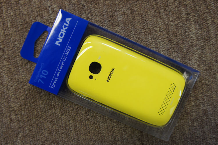 Nokia 710 cover - yellow