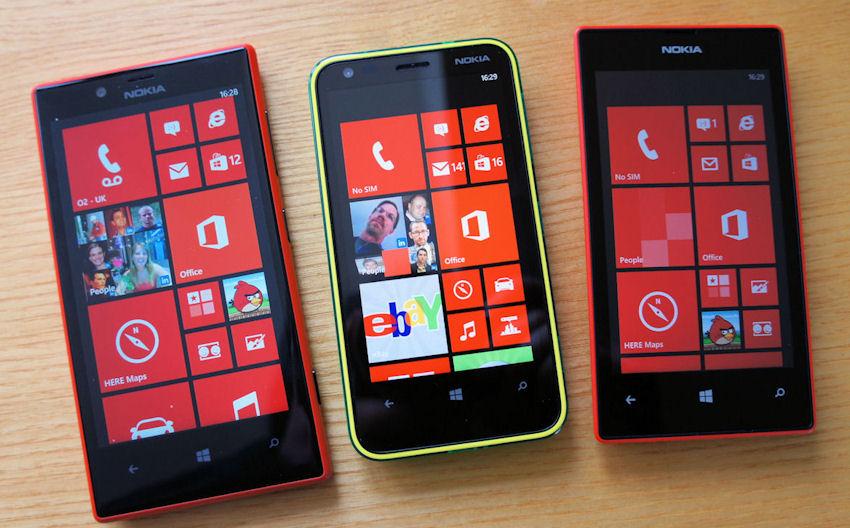 Lumia 520 620 720