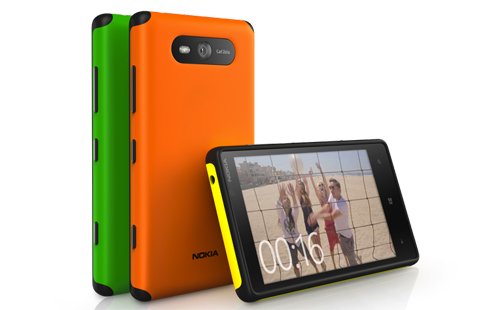 Lumia 820 Active Shells