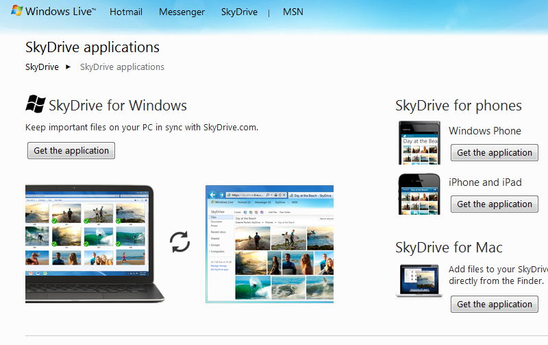 SkyDrive Desktop