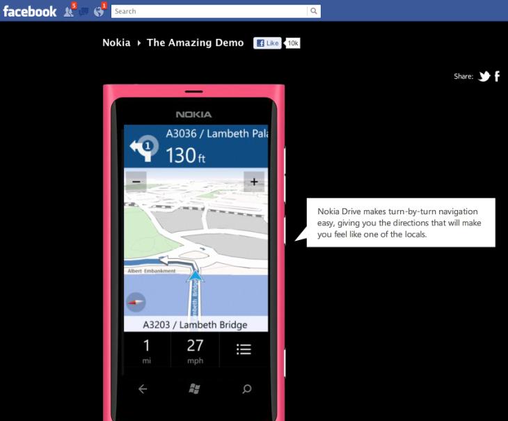 Lumia demo
