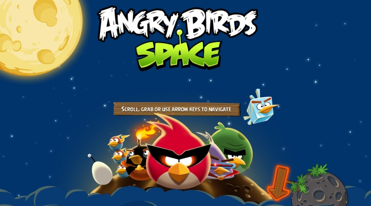 Angry Birds Space coming to WP