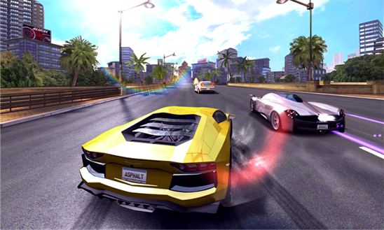 Asphalt 7 screen
