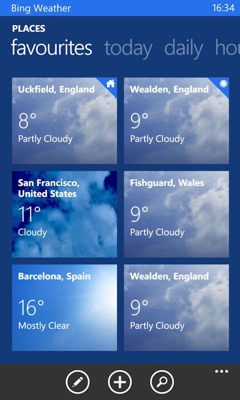 Bing apps