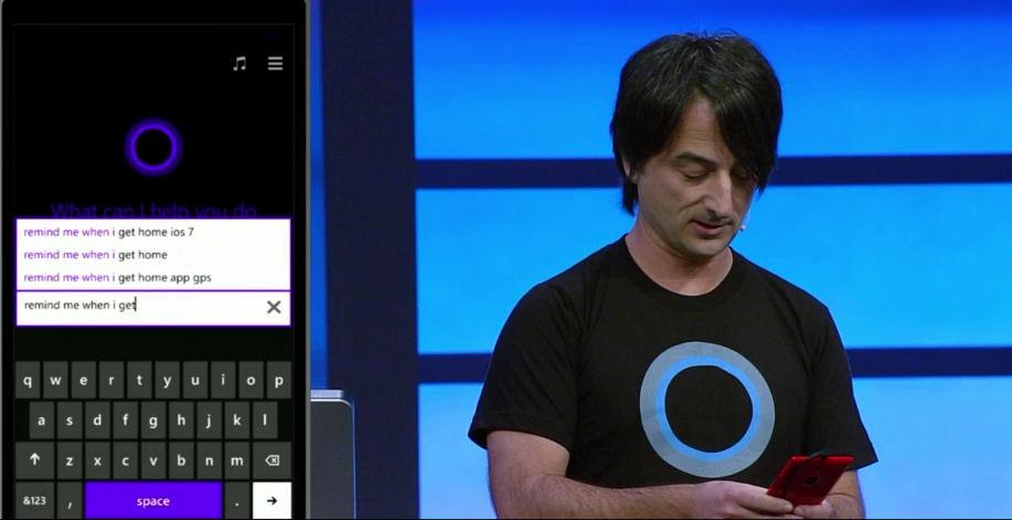Demoing Cortana