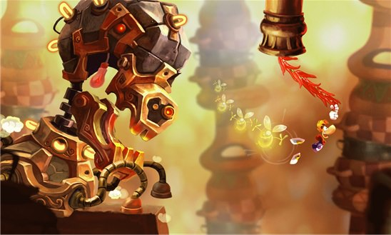 Screenshot, Rayman Fiesta Run