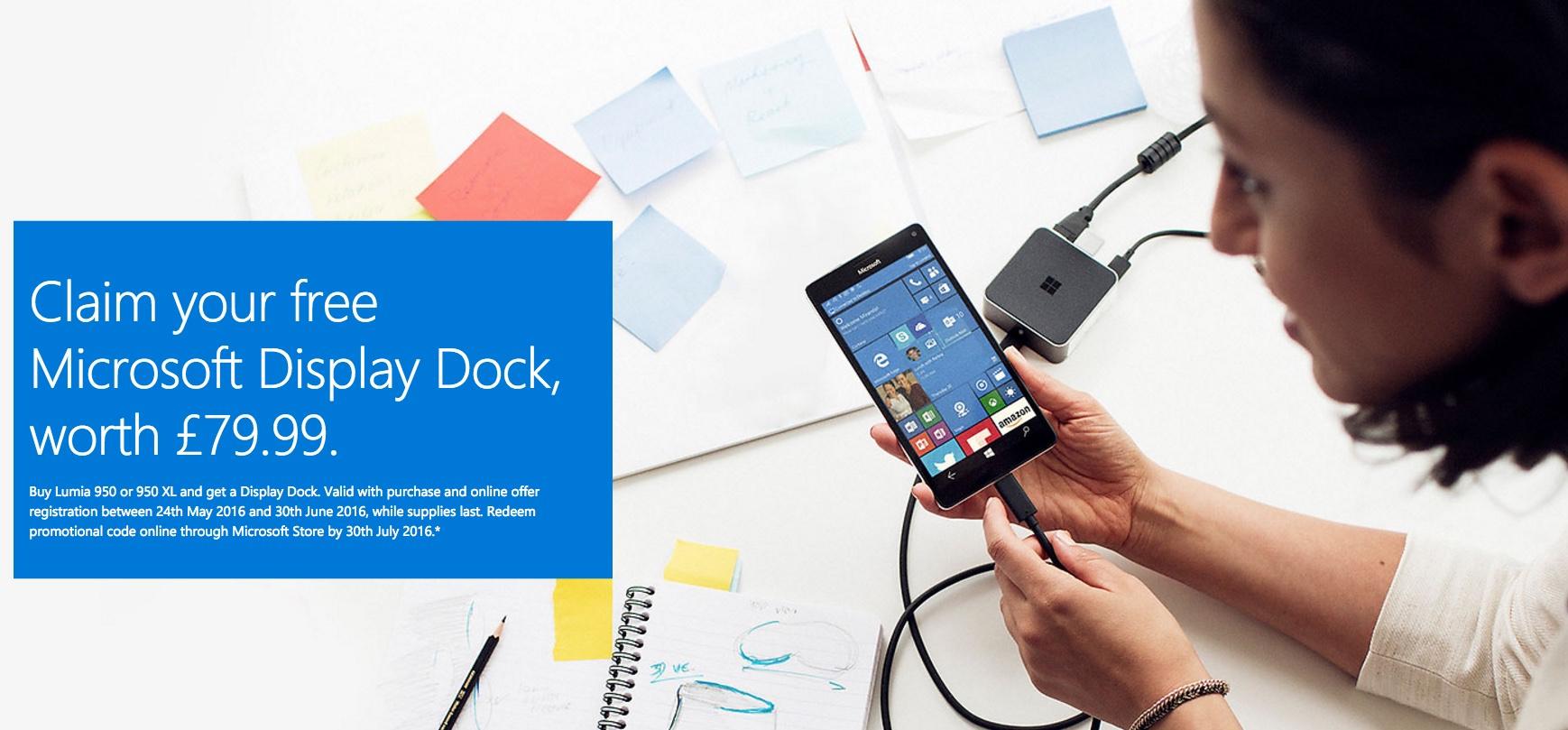 Dock offer