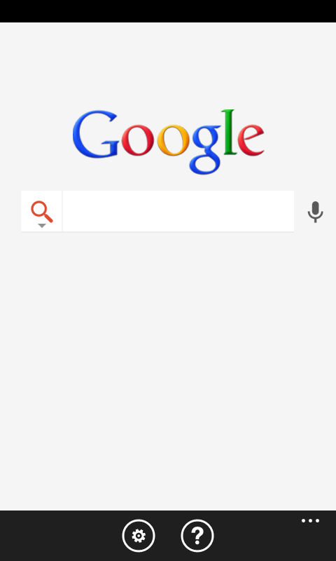 Google search app for windows phone relaunched