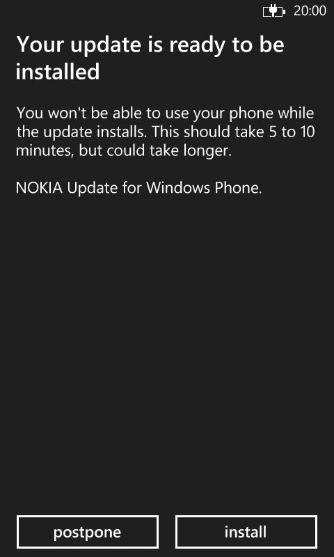 Lumia 620 update