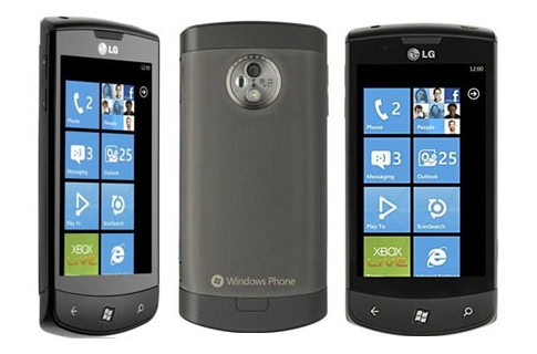 Windows Phone 7-смартфон LG Optimus 7